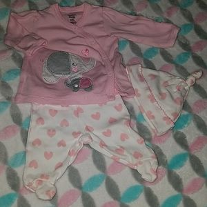 Adorable baby girl outfit.